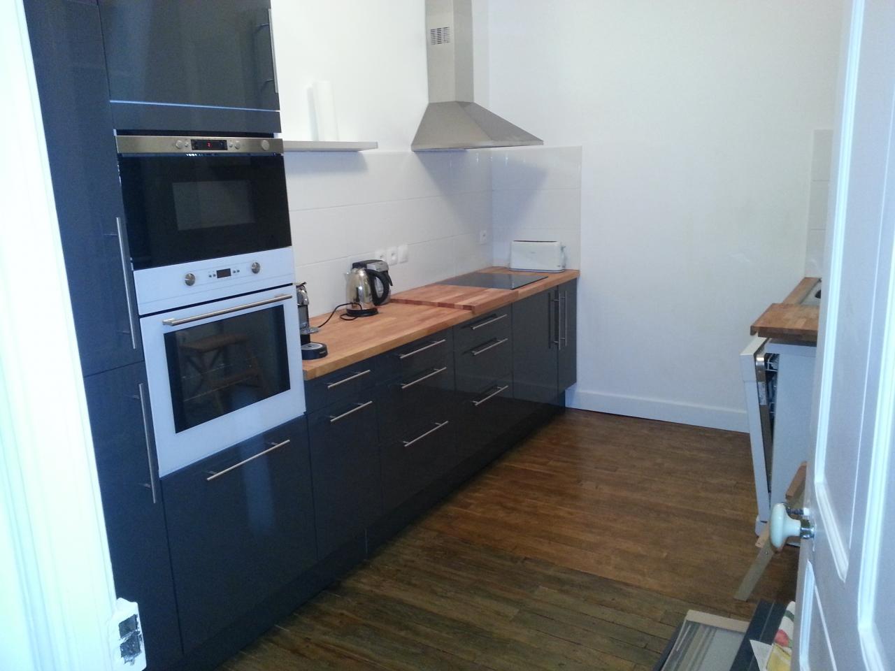 Pose meubles de cuisine