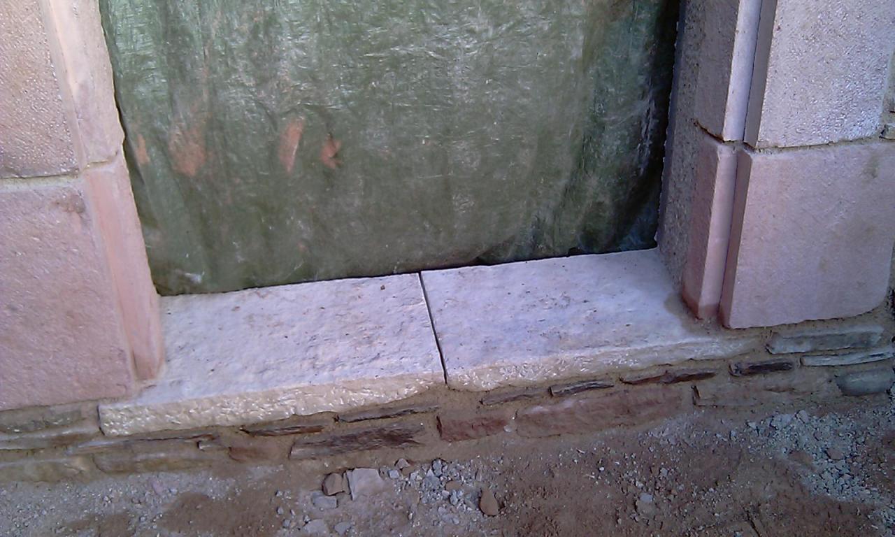 Seuil pierre de taille