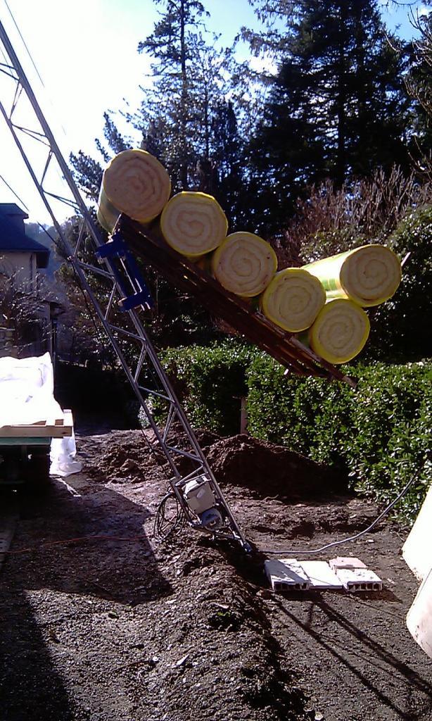 monte matériaux Apache 15 m