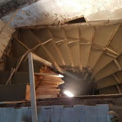 Escalier traditionnel béton armé